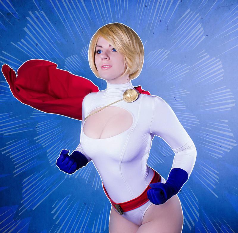 DCcomics Power Girl by MayWolf23