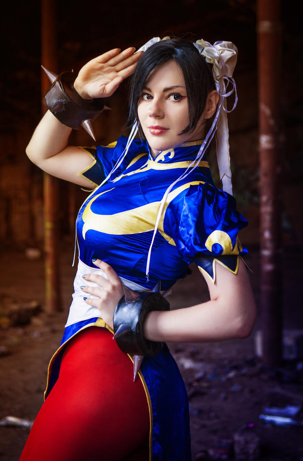 [Sexy Cosplay] Chun Li by MayWolf23