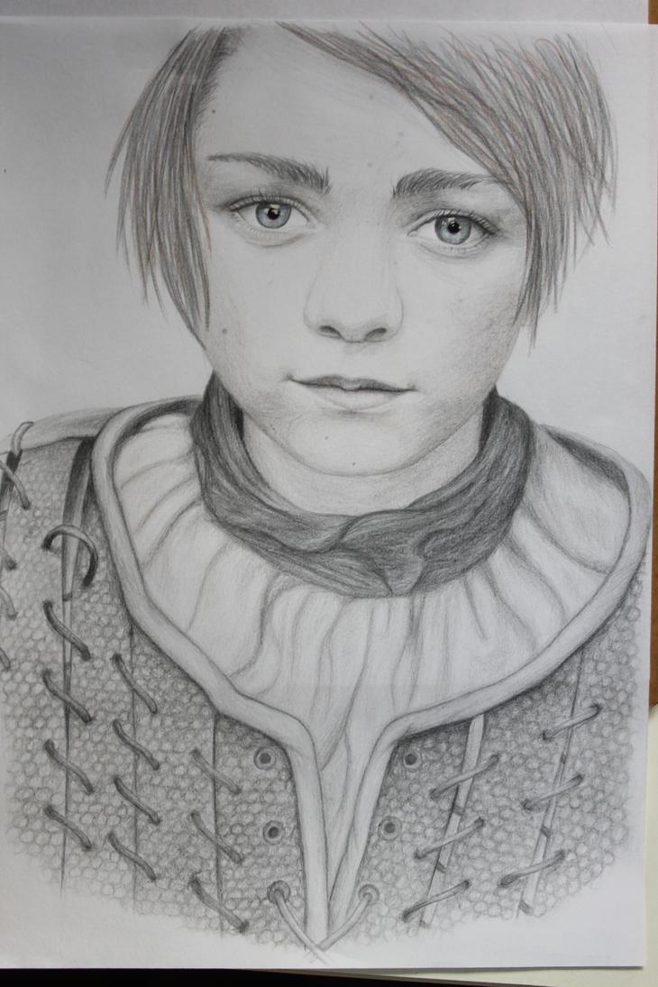 Arya Stark by Zuzapest
