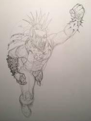 Lobo pencils by dustinspagnola