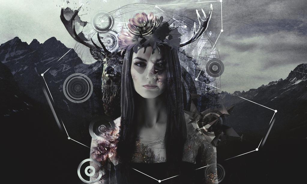 Deer Girl  by Eslam27