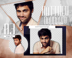 Png Pack 1068 - Matthew Daddario by confidentpngs