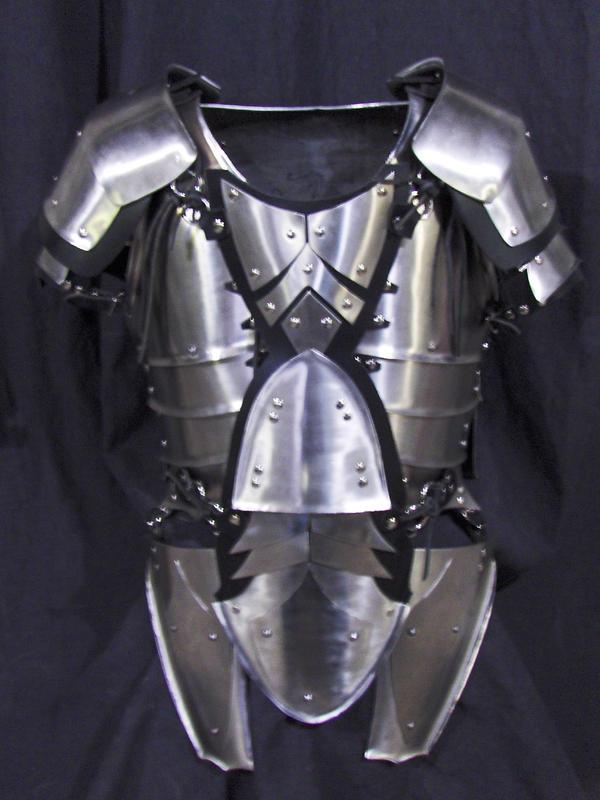Steel leaf armour by LancierPilum