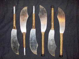 juggling knives by LancierPilum