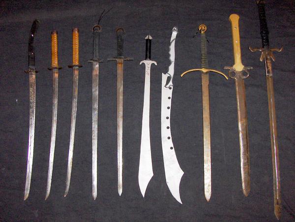 swords by LancierPilum