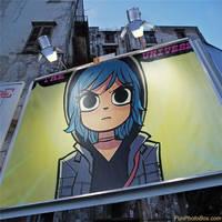 Ramona Flowers, Billboard by Alaxr274