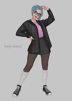 Nerdy Hipster Polly (Updated)
