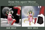 Draw this again: Moon Rabbit