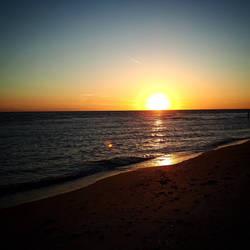 Sunset in Sanibel