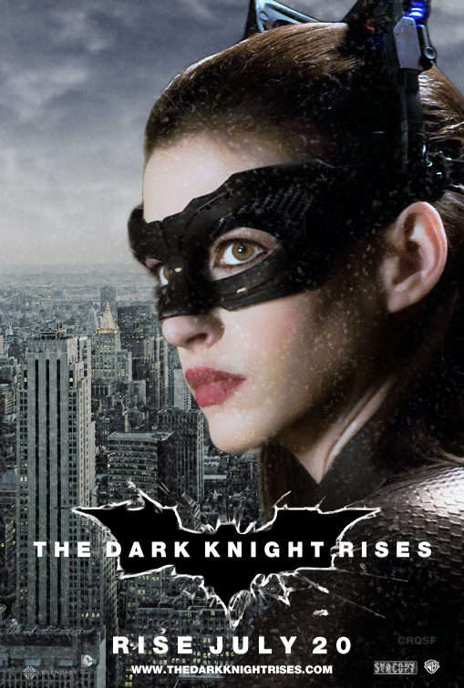 The Dark Knight Rises Catwoman fan poster by crqsf on ...