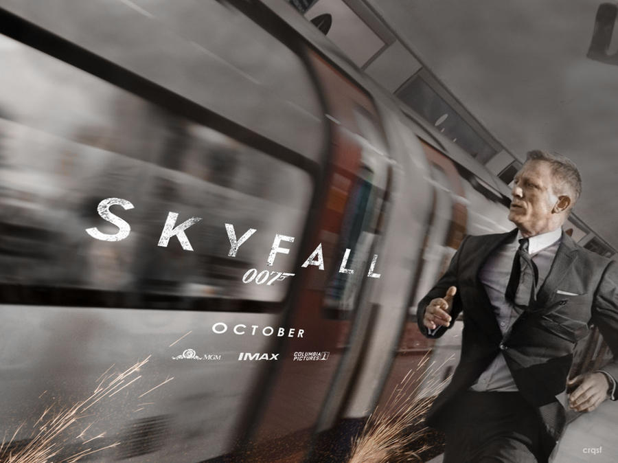 Skyfall fan quad poster by crqsf