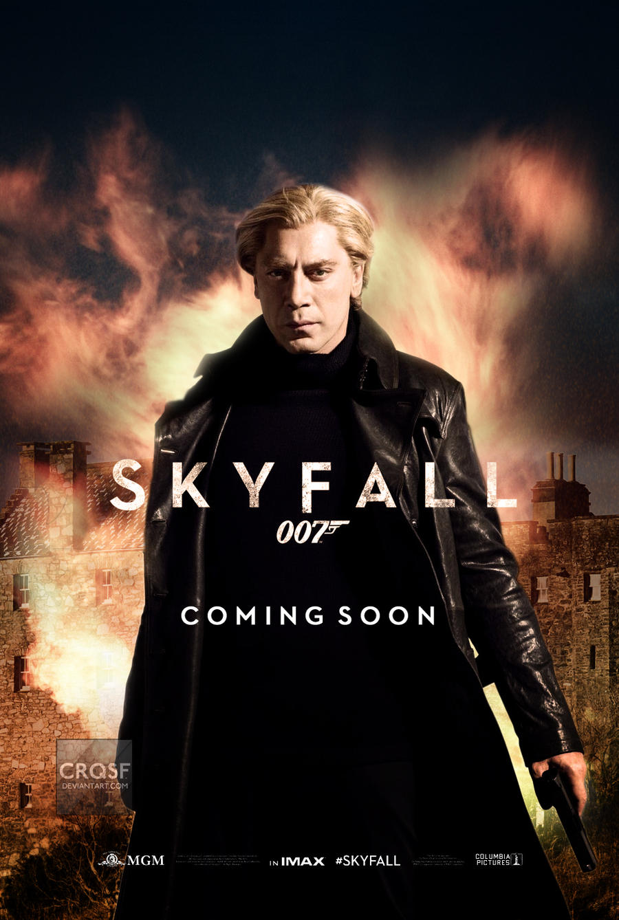Skyfall fan Silva poster by crqsf