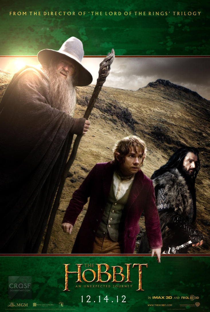 The hobbit bilbo poster