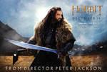 The Hobbit Thorin fan quad