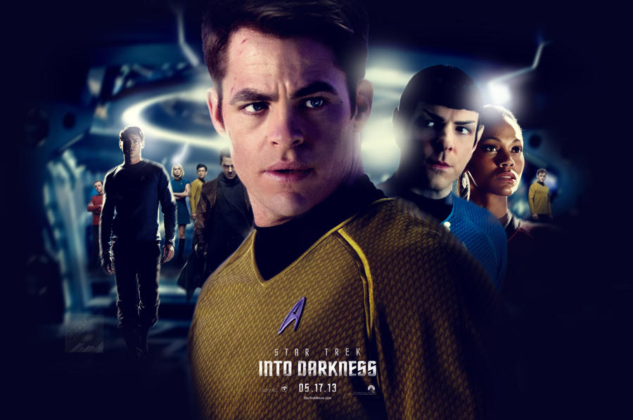 Star Trek Into Darkness Movie Poster Wallpaper