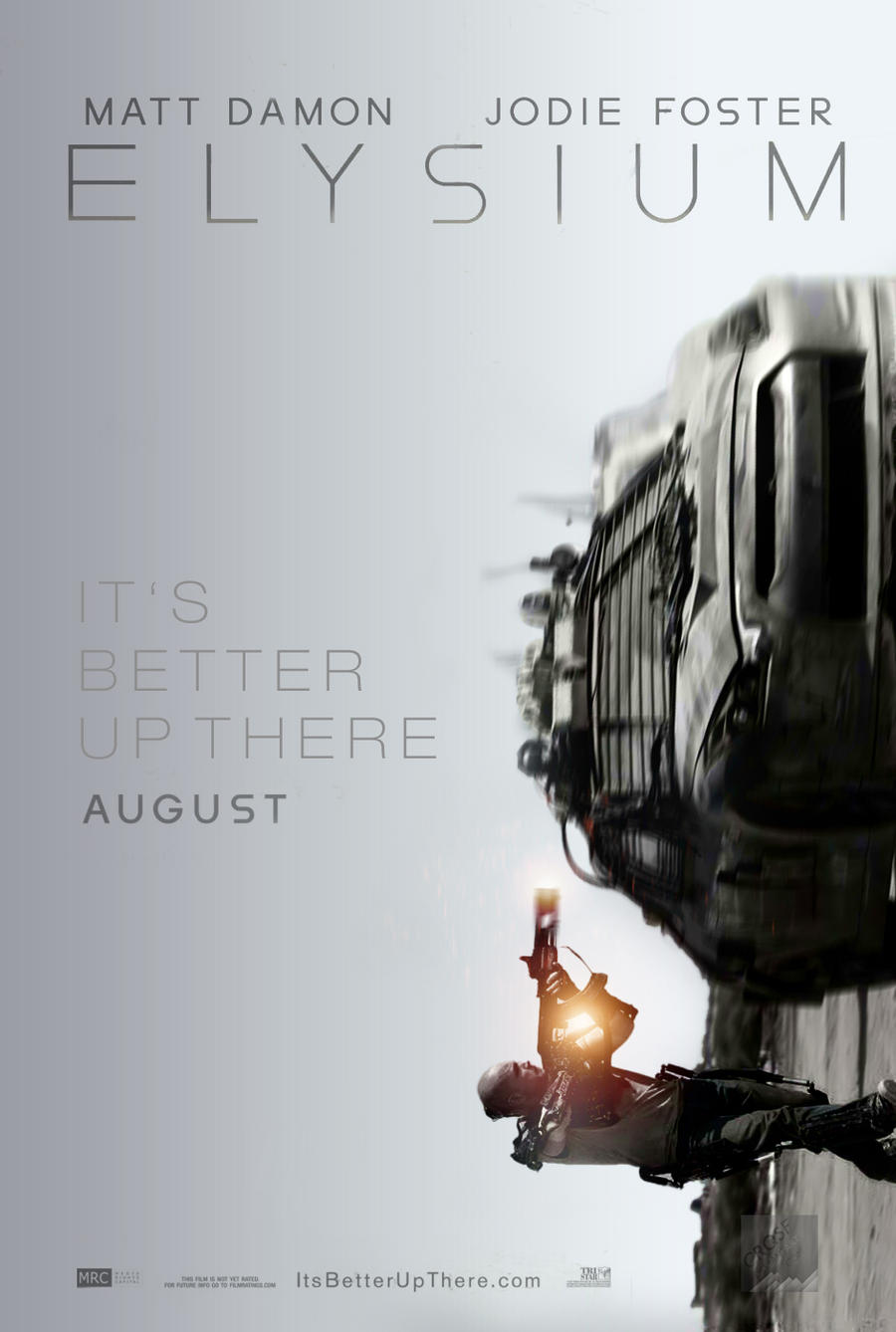 Elysium fan poster 2 by crqsf