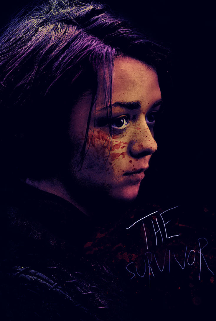 The Survivor (Game of Thrones, Arya) by crqsf