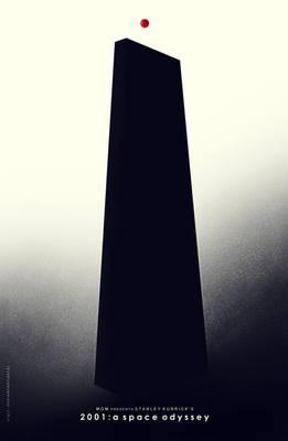 2001 a space odyssey fan poster