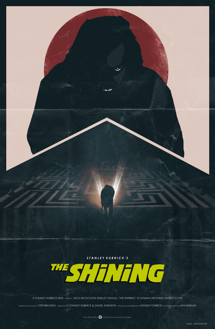 The Shining (1980) fan poster by crqsf on DeviantArt