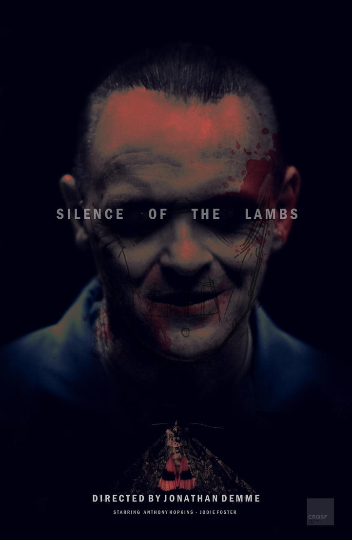 Silence Of The Lambs Fan Poster By Crqsf ...