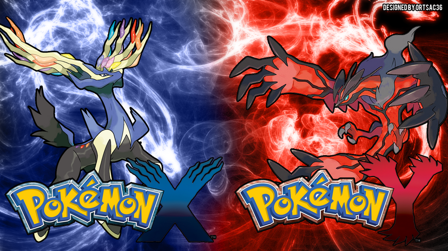 Xerneas and Yveltal Desktop Background by ortsac36 on ...