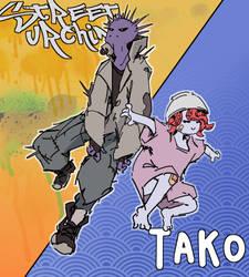 urchin and tako