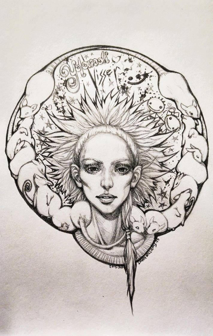 Yolandi Visser by KizukuDawn