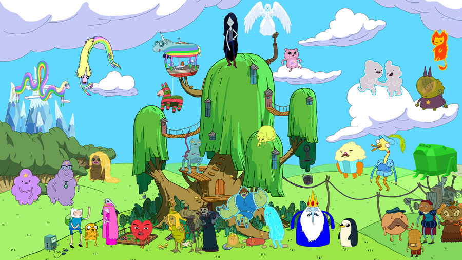 The Adventure Time Crew :D by unicornlover69