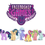 Ponified Shadowbolts Wallpaper
