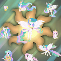 Celestia Wallpaper 2 by PinkieThePowerpuff