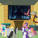 The Ponies Watch The Force Awakens