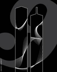 September 11th Poster Design (BW)