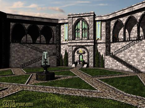 Zelda - Courtyard Remake