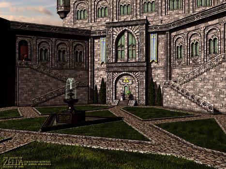 Zelda - Hyrule Castle Courtyard  V2