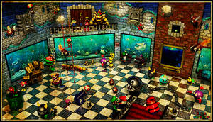 Super Mario 64 - 'Jolly Roger Bay' Room