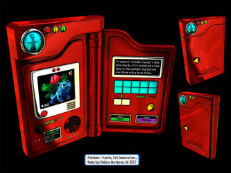 Pokedex 3D - Kanto, 1st Generation by robbienordgren