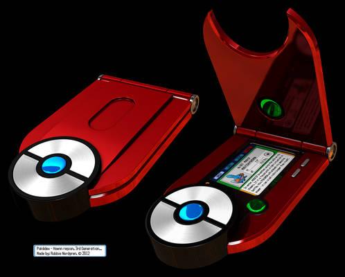 Pokedex 3D - Hoenn, 3rd Generation