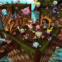 Kirby 3D - 20th Anniversary