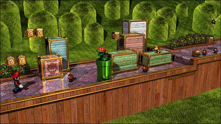 Super Mario Bros. 3 - 3D by robbienordgren