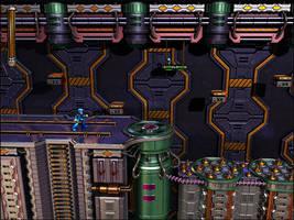 GA-HQ Art Contest: MegaMan 7 3D, Wily's Castle Lv3 by robbienordgren