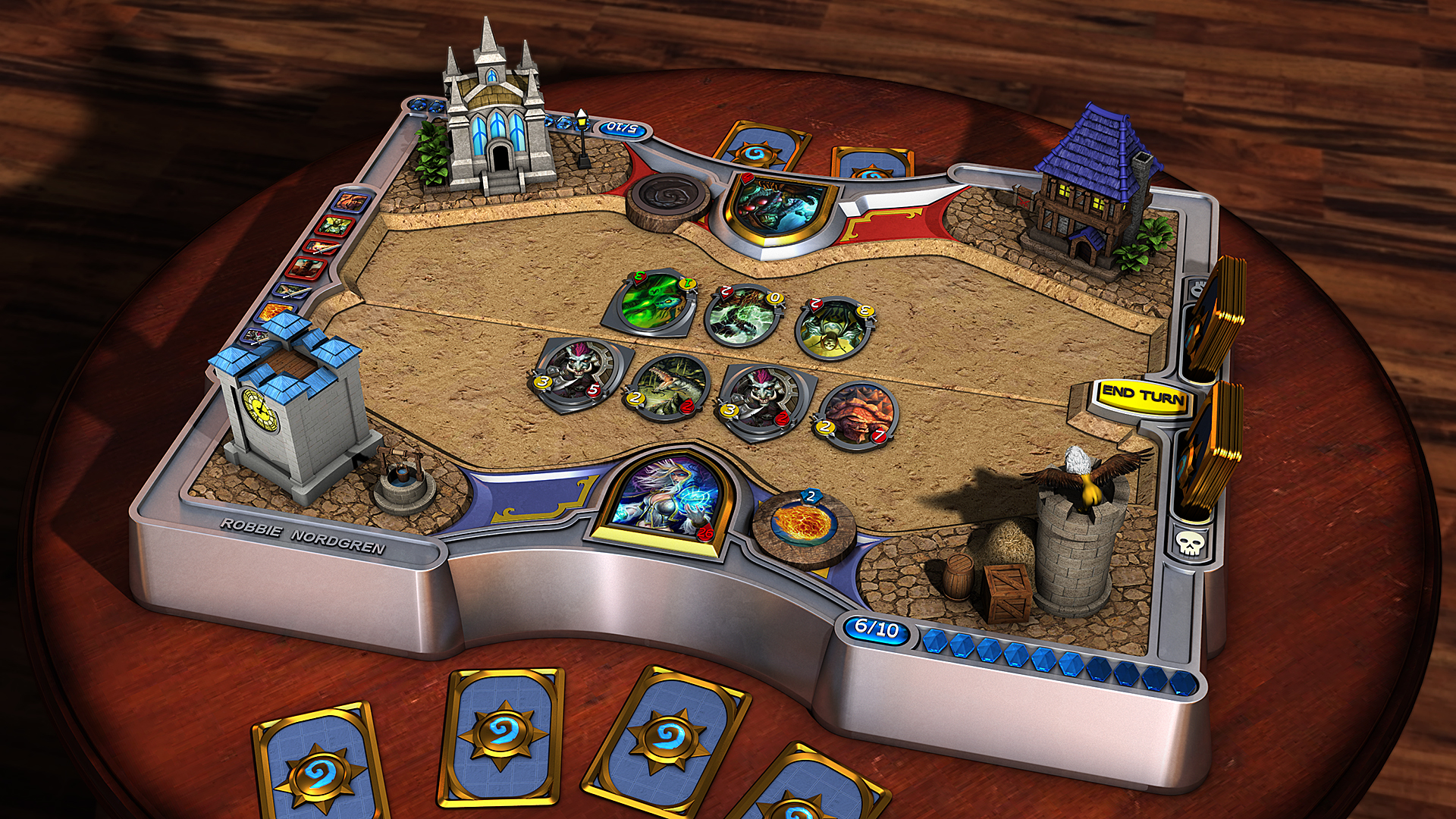 Hearthstone - Heroes of Warcraft, 3D by robbienordgren