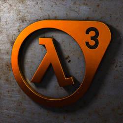 Half-Life 3, 3D Logo