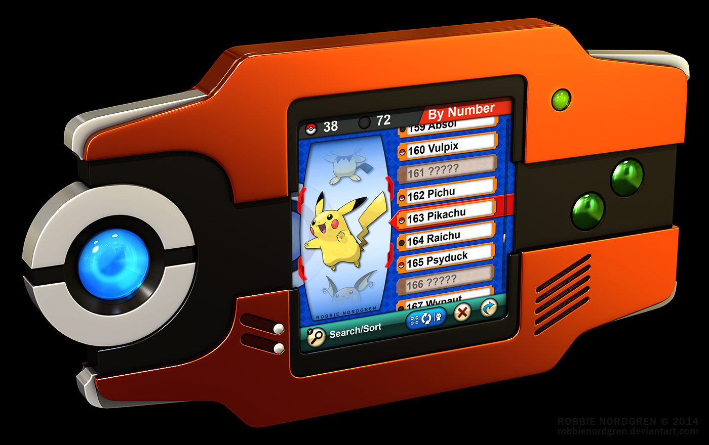 Image Gallery Hoenn Pokedex