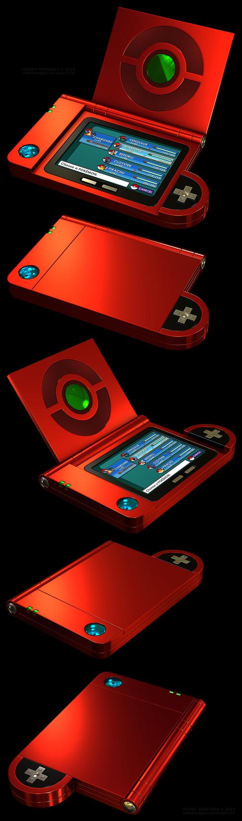 Kanto Pokedex 3D, 3rd Generation by robbienordgren