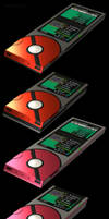 Unova Pokedex 3D, 5th Generation by robbienordgren
