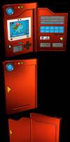 Kanto Pokedex 3D, 1st Generation by robbienordgren