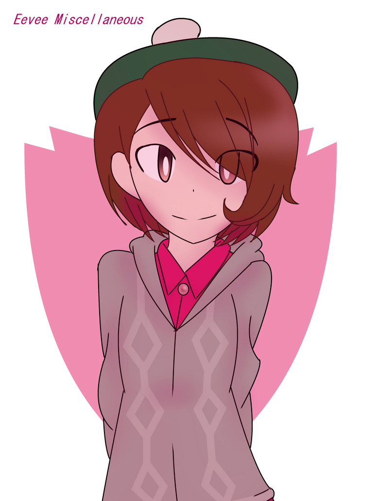 Pokemon Sword And Shield Female Trainer By Eveart13 On Deviantart