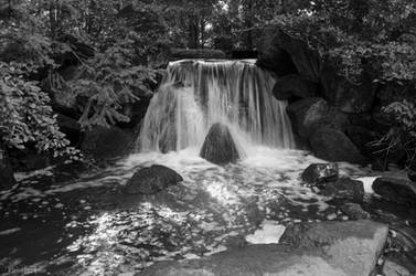 Waterfall by Finsternisss