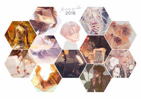 2018 Art Summary by Charlotte-Exotique