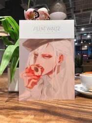 Silent Waltz Illustration book by Charlotte-Exotique
